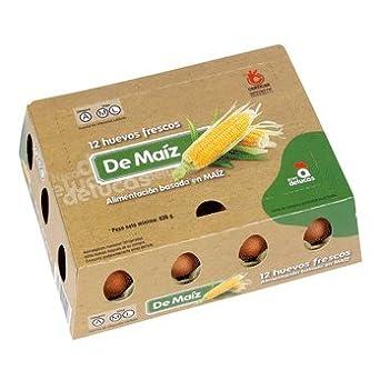 GRUPO DE LUCAS huevos frescos clase L maiz estuche 1 docena ...