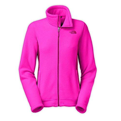 (The North Face Womens Khumbu Jacket Luminous Pink/Dramatic Plum X-Small )
