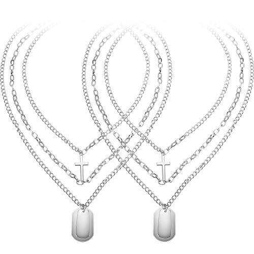 2 Pieces Y Pendant Necklace...