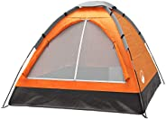 Wakeman Family-Tents 2-Person Dome Tent- Rain Fly & Carry
