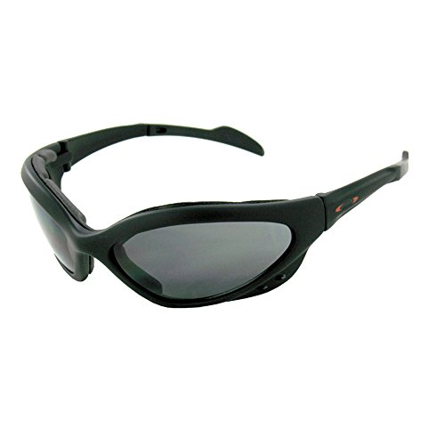 SOS Survival Optics Sunglasses Bat ray Matte Black SofTou...