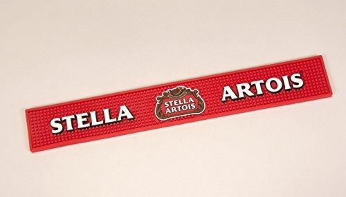 Stella Artois Bar Mat - Red