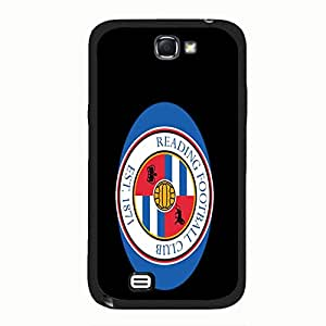 Samsung Galaxy Note 2 N7100 Cover Shell Fashionable Black Printed Reading Football Club Phone Case Cover for Samsung Galaxy Note 2 N7100