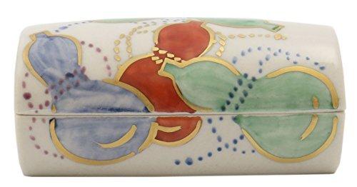 Gourd Kiyomizu Yaki Porcelain 3.5inch Toothpick holder by Watou.asia
