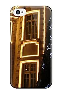 1031796K31378348 Iphone 4/4s Case Cover - Slim Fit Tpu Protector Shock Absorbent Case (holiday Christmas)