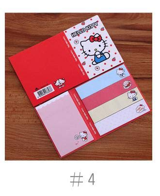 Memo Pads - Cartoon Totoro Hello Kitty Doraemon Baymax Self-Adhesive Memo Pad Sticky Notes Bookmark School Office Supply - by SeedWorld - 1 PCs