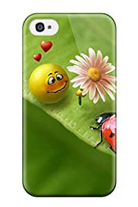 Ernie Durante Jackson's Shop 9796004K34126348 New Smiley In Love Tpu Case Cover, Anti-scratch Phone Case For Iphone 4/4s