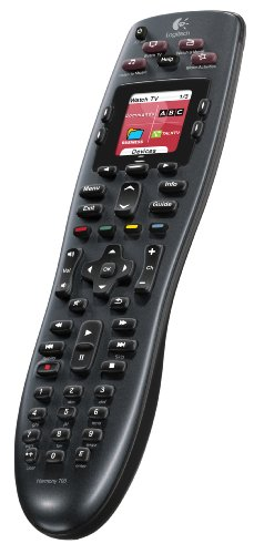 Logitech Harmony 700 Rechargeable Remote with Color Screen (Discontinued by