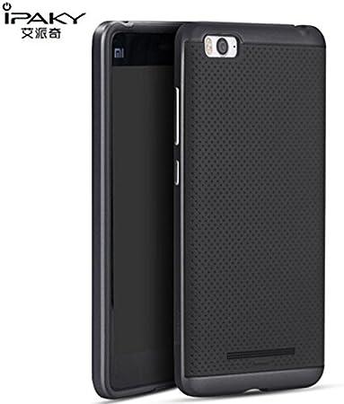 MOURASHOP Funda Original Ipaky para Xiaomi Mi4C 4i Carcasa Bumper Ultra Slim Armor Silicona TPU Flexible rígida, máxima protección de Aviso y Golpes Hybrid 3Color.