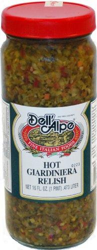 Galil Dell Alpe Giardiniera Relish Hot, 12 (Hot Relish)