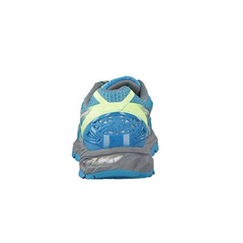 Asics Gel Fuji Trabuco 4 Neutral Zapatilla De Correr Para Tierra Azul
