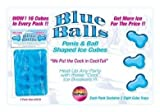 Blue Balls Penis Ice Cube Tray (Package Of 5)
