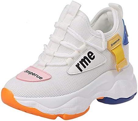 RONGXIE Zapatos De Malla De Aire De Malla Casual Populares Zapatillas Altas De Dos Colores para Mujeres: Amazon.es: Deportes y aire libre