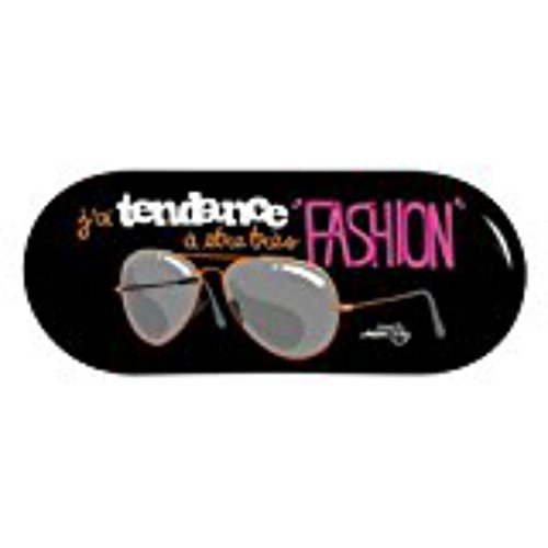 Boîtier à la lunettes Marron Porte Fashion DLP Derrière C7rC8Z1