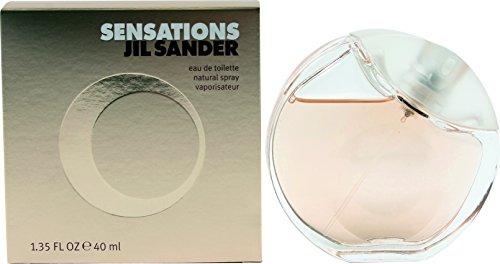 - Jil Sander Sensations Eau de Toilette Spray for Women, 1.35 Ounce