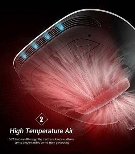 RHSMW Instrument D\'élimination des Acariens Utilisation À La Maison Lit Aspirateur Ultra-Violet Stérilisateur Ordinateur De Poche 12000Pa Acarien pour Matelas Canapé Aspirateur