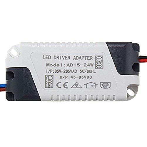 15W-24W LED Driver AC 120V/240V to DC 45V-85V Transformer Power Home - Transformer 15w