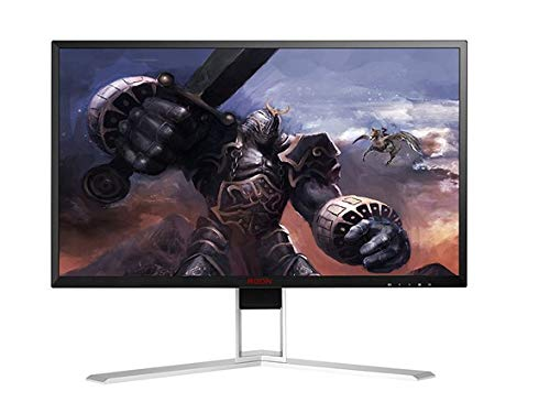 "AOC Agon AG271UG 27"" Gaming Monitor, G-SYNC, 4k UHD (3840x2160), IPS Panel, 60Hz, 4ms, Height Adjustable, DisplayPort, HDMI, USB (Renewed)"