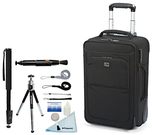 Lowepro NEW Pro Roller X200 AW Photo Rolling Case For Dslr Cameras & Lenses + Accessory Kit