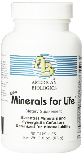 American Biologics Minerals for Life Capsules, 90 Count