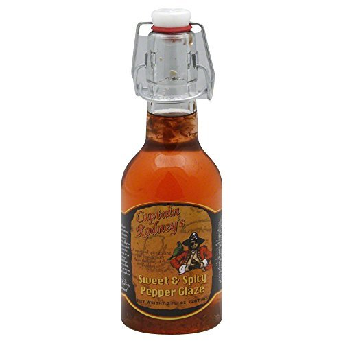 (Captain Rodney's Private Reserve Sweet & Spicy Pepper Glaze 9.0 OZ by Captain Rodney's)