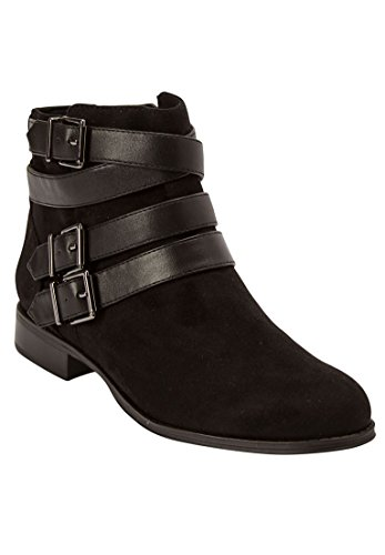 Comfortview Womens Wide Larkin Booties Zwart