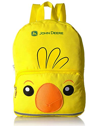 John Deere Toddler Girls 13 inch Mini Backpack (One Size, Yellow Chick)