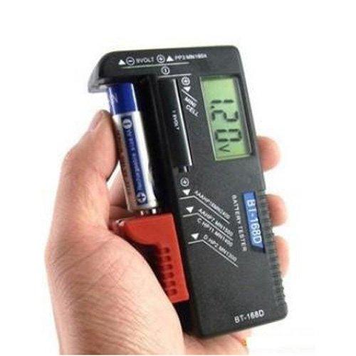 LCD Batterietester Universal Batterie Tester Akku-Tester Volt Pruefer Batterieprüfer fuer fuer 9V 1,5 V und AA AAA Batterien