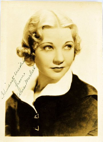 Used, c.1930s - Una Merkel Autographed Vintage 5x7 Photograph for sale  Delivered anywhere in USA