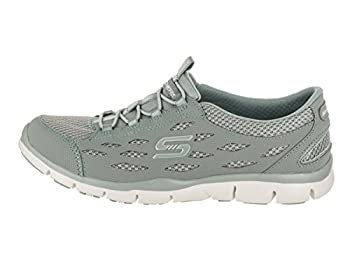 Skechers Womens Gratis - Breezy City Sneaker, Sage, Size 8.5 1