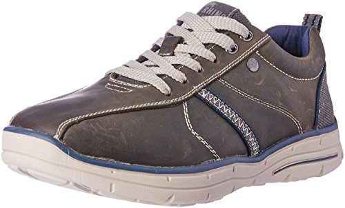 Wild Rhino Men Hayden Trainers Shoes Grey (DARK GREY)