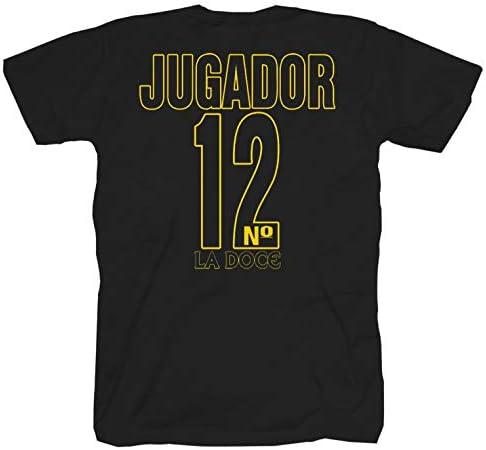 Boca Juniors młodzieżowy czarny t-shirt: Odzież