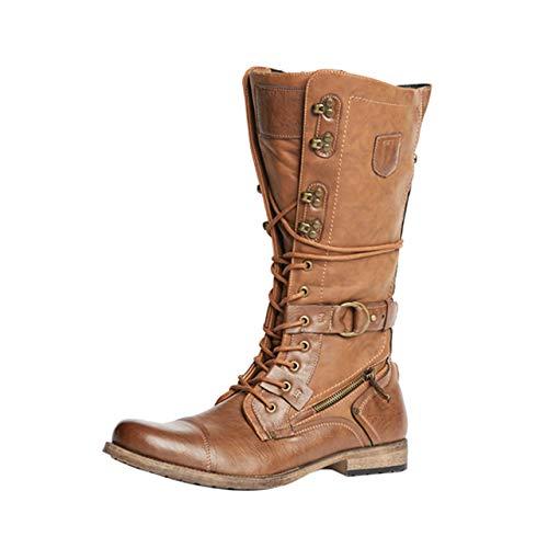 - Jump J75 Men's Decoy Military Boot Tan 11 D US Men