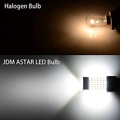 JDM ASTAR Extremely Bright 144-EX Chipsets 7440 7441 7443 7444 992 White LED Bulbs with Projector For Backup Reverse Lights: Automotive