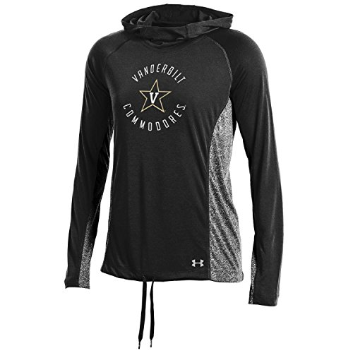 Under Armour NCAA Vanderbilt Commodores Women's Threadborne Training Hood, Large, Black