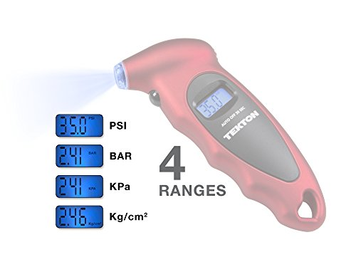 TEKTON 5941 Digital Tire Gauge, 100