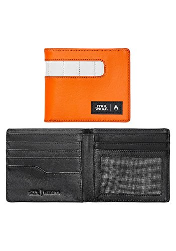 Nixon Showoff Leather Wallet Star Wars Rebel Pilot Orange by NIXON