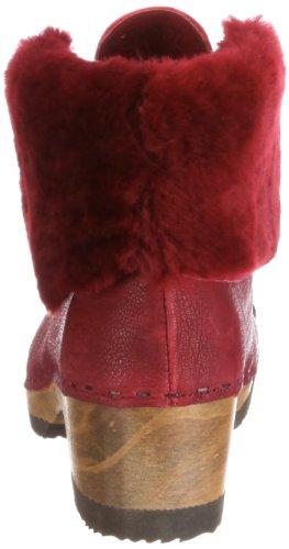 Think Wood 7-87487-72 - Botas para mujer Rojo