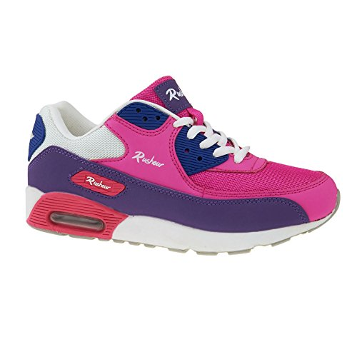 London Footwear ,  Damen Sneaker Low-Tops Rosa / Violett