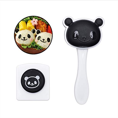 Rice Ball Mold Maker Panda Sushi Rice Mold for Kids Onigiri Rice Ball Seaweed Cutter Mould Kitchen Cooking Tool Bento Accessories