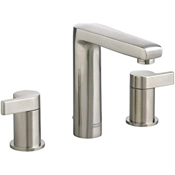American Standard Studio Widespread Faucet With Metal Lever Handle Satin Nickel