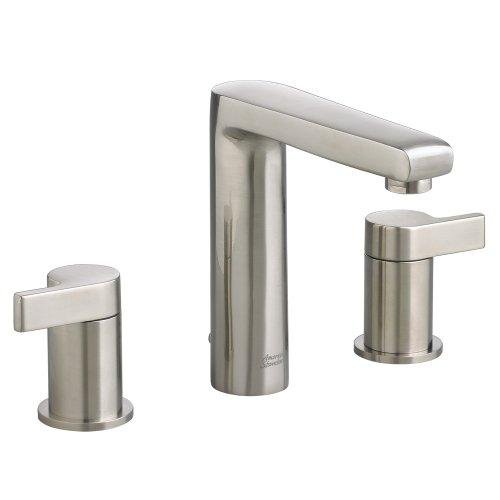 UPC 012611456114, American Standard 2590.801.295 Studio Widespread Faucet with Metal Lever Handle, Satin Nickel