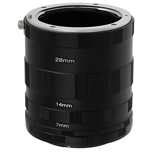 Fotodiox Nikon Macro Extension Tube Kit for Nikon Cameras, Extreme Close-ups