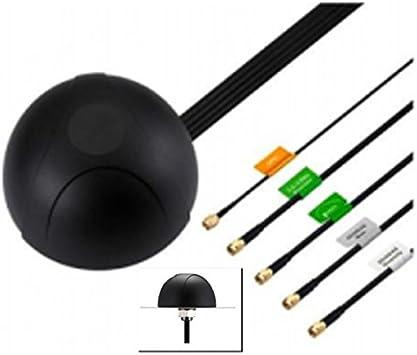 Cradlepoint 5 en 1 GPS, módem y Antena de Montaje con ...