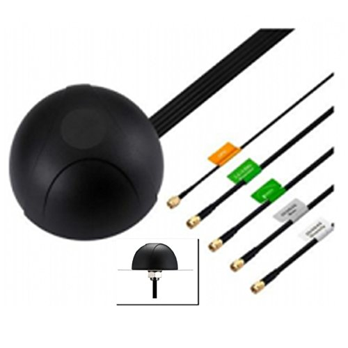 Cradlepoint 5-in-1 GPS, Modem & WiFi Screw-mount Antenna by Embedded Works