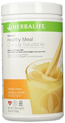 Herbalife Formula 1 Orange Cream Naranja y Vainilla (750g) 26.4oz (Herbalife Formula 1 French Vanilla Shake Recipes)