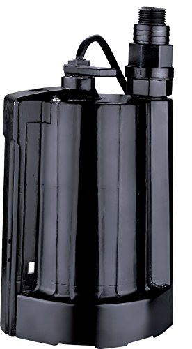 Acquaer AUP033-5 Acquaer 1/3 Auto Submersible Utility Pump, Black by Acquaer