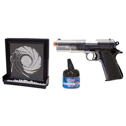 Walther Target Pack- 6mm AIRSOFT- Clear