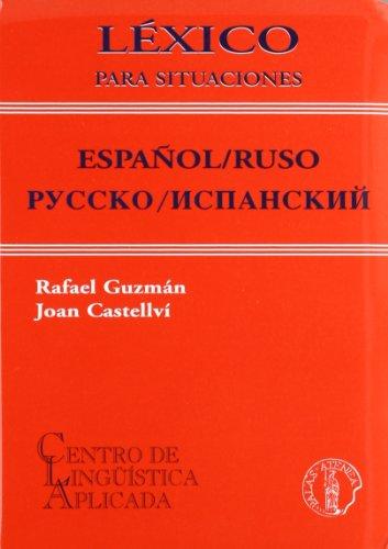 Descargar Libro Lexico Para Situaciones - Español/ruso Rafael Guzman