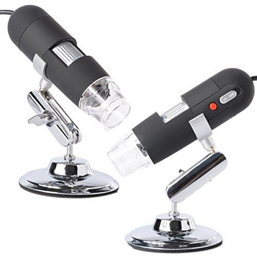 XCSOURCE® 2.0MP 800X USB Mikroskop Endoskop Digital PC Vergrößerung Kamera 8LED Licht für Mac Win/Mac/WinXP/7/OS TE131
